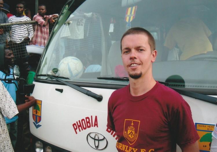 Hearts team bus