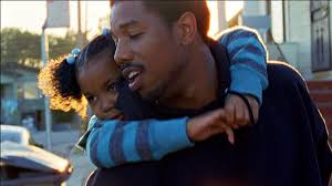 Arianna Neal and Michael B. Jordan in Fruitvale Station