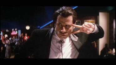 John Travolta in Pulp Fiction