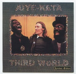 Rear of reissue of Third World sleeve
