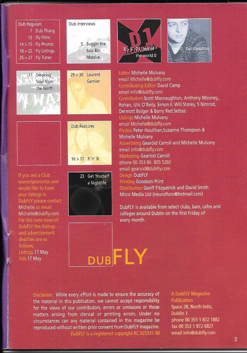 Dubfly credits