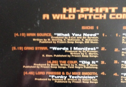 The excellent Hi-Phat Diet compilation on Wild Pitch featuring a Gang