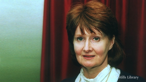 Eavan Boland (Photo: RTE)