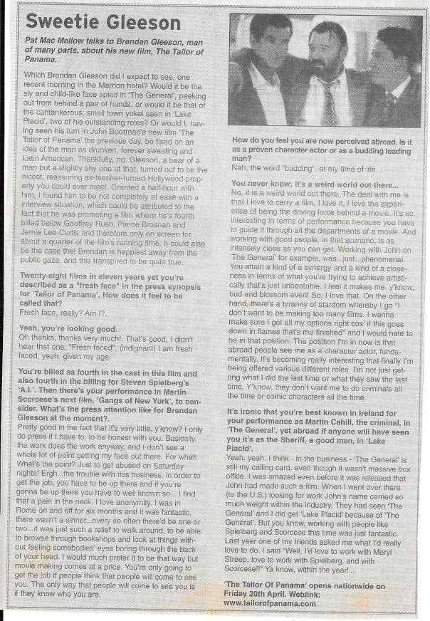 Event Guide Brendan Glesson interview