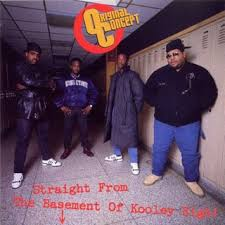 AL(B)UMNI: Easy G Rockwell on the left of the front over to Original Concept's only album