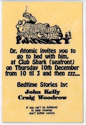 Dr Atomic pyjamas details