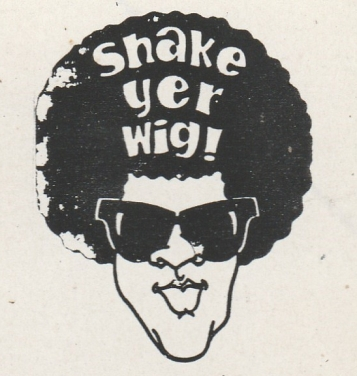 Shake Your Wig sticker